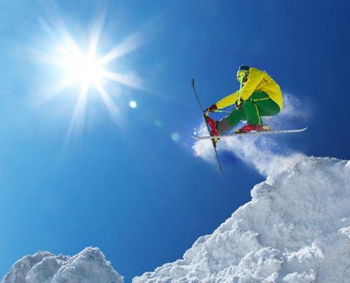 Summit County Colorado Skier