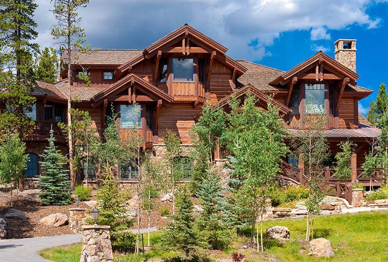 Colorado Custom Log Home